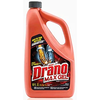 best kitchen sink drain opener drano max gel clog remover 80 ounce health 7722