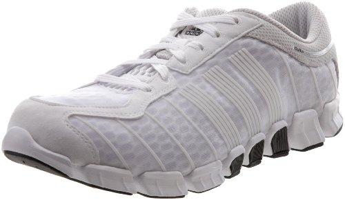 Scarpa Da Running Adidas Mens Climacool Da Corsa Bianco / Nero / Argento Metallizzato