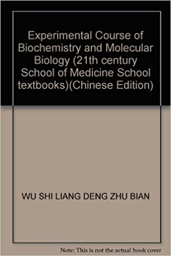Online books to read and download for free Experimental Course of Biochemistry and Molecular Biology (21th century School of Medicine School textbooks) 7030140788 (Finnish Edition) PDF RTF