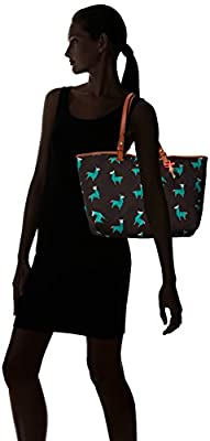 Fossil Rachel Tote-Teal Green
