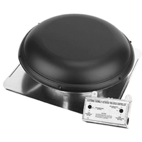 AIR VENT 53847 Roof Mounted Power Attic Ventilator, ()