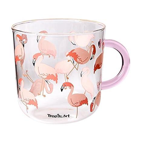 TIANLIANG04 Tazas、Tazas de café、mug Una Taza Con Un Vaso, Una Familia Encantadora Desayuno Leche, Harina De Avena, Una Taza: Amazon.es: Hogar