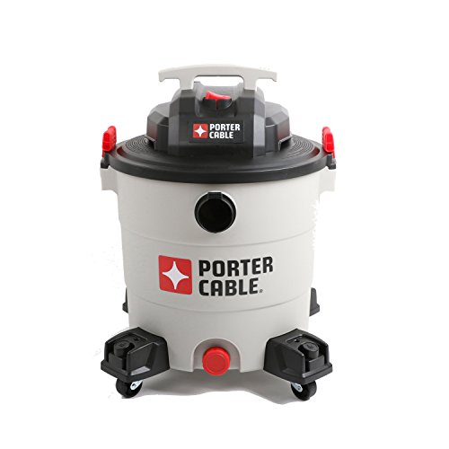 PORTER-CABLE Wet/Dry Vacuum, 12 Gallon, 6 Horsepower by PORTER-CABLE