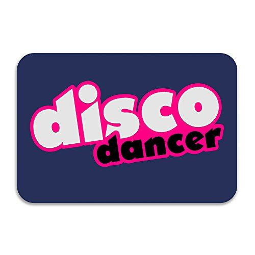 Disco Dancer Doormat And Dog Mat ,40cm 60cm Non-slip Doormats,Suitable For Indoor Outdoor Bathroom Kitchen Doormat And Pets (Cape Cod Braided Rugs)