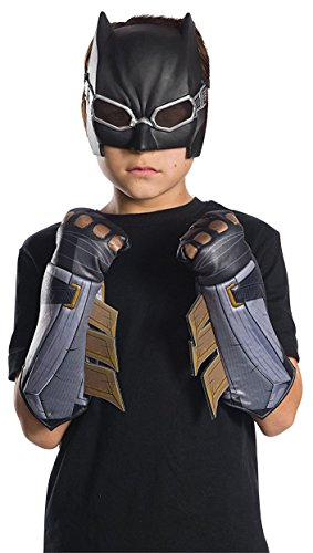 Space Batman Costume (Rubie's Costume Boys Justice League Tactical Batman Gauntlets Costume, One Size)