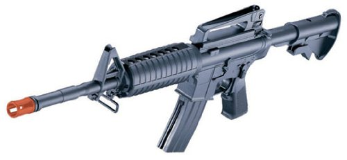Well 94S VA94S AEG Auto Electric M4A1 Carbine Airsoft M4 Assault Rifle, Black ()