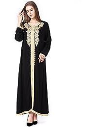 b1633a2881 Muslim Dress Dubai Kaftan Women Long Sleeve Long Dress Abaya Islamic  Clothing Girls Arabic Caftan Jalabiya