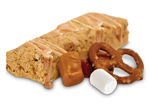 16 Bar Variety Pack: Toffee Pretzel Crisp & Delicious Vanilla Treat Protein Bars Best Tasting Low Carb Low Sugar Protein Bars - 15g Protein, 5-7g Net Carb, 3-4g Sugar by Transcend Foods (Image #4)