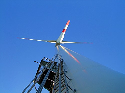 LAMINATED POSTER Rotor Blades Large Wind Turbine Head High Poster Print 24 x (36 Rotor Head)
