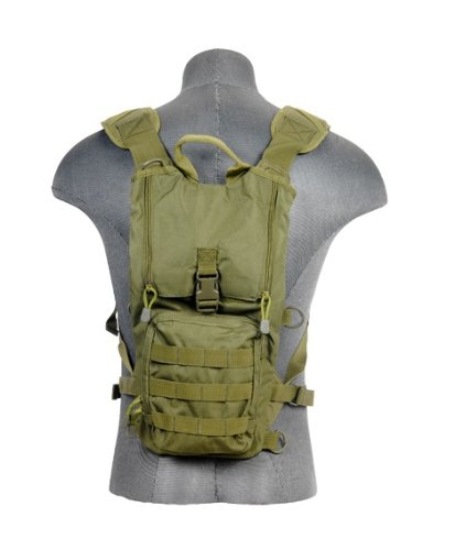 Lancer Tactical CA-321G Lightweight Airsoft Hydration Pack Green