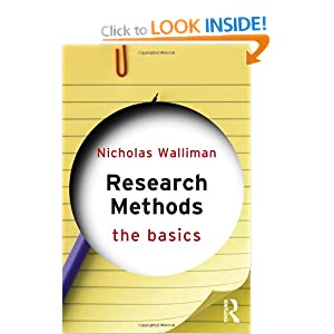 Research Methods: The Basics Nicholas Walliman