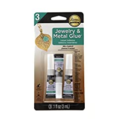 I Love To Create-Aleene's Jewelry & Metal Glue. Perfect for jewelry ceramic pieces leather metal rubber gems mirrors wire and more! Strong and permanent. This package contains three .1oz tube of jewelry and metal glue. Conforms to ASTM D ...