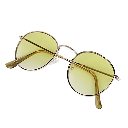 SunnyPro Classic 90's Vintage Trendy Ocean Colored Womens Sunglasses For Men - Ocean Wear Sunglasses