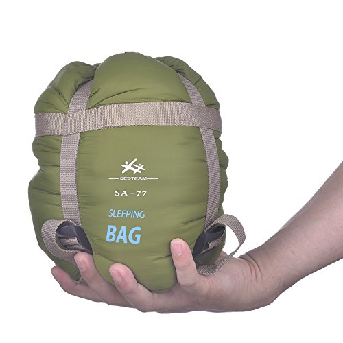 BESTEAM Ultralight Warm Weather Envelope Sleeping Bag