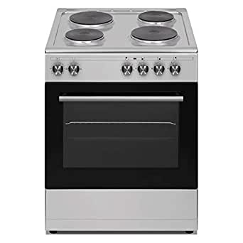 Veneto 60 X 60 cm 4 Electric Hot plates, Free standing Electric cooker, Stainless Steel - L660SX.VN