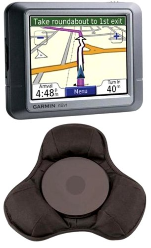 (Garmin nüvi 750 4.3-Inch Widescreen Portable GPS Navigator with Portable Dashboard Mount Included )