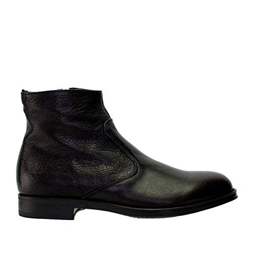 Alberto Guardiani Guardiani Lthr Zip Ankle Boot ()