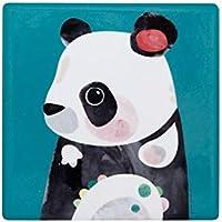 Maxwell & Williams Pete Cromer Wildlife Ceramic Square Coaster 9.5cm Panda
