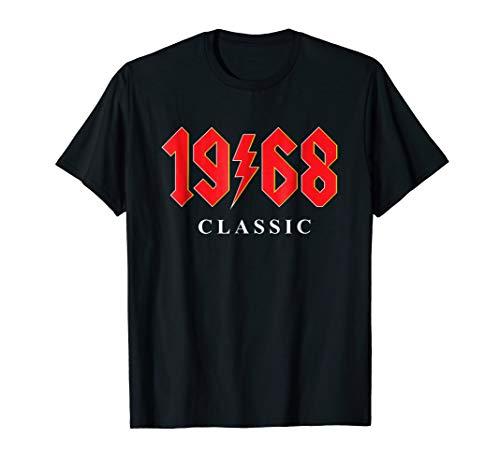 1968 Classic Rock 50th Birthday Gift T - 50th Birthday Shirts Tee