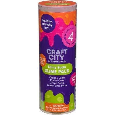 Craft City Karina Garcia Slime 4 Pack (Soda Slime)