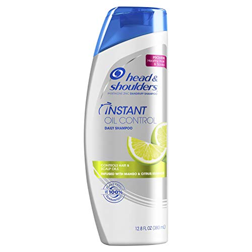 Head and Shoulders Instant Oil Control Daily-Use Anti-Dandruff Shampoo, 12.8 fl oz