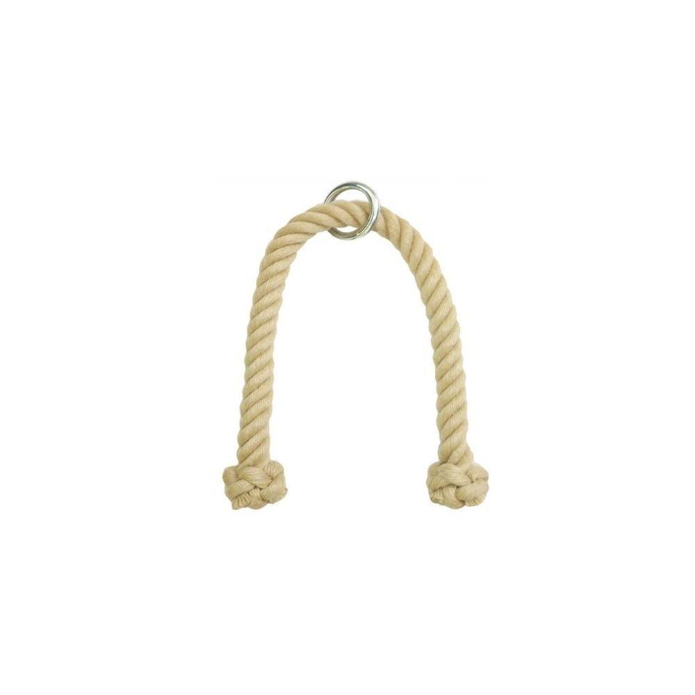 Das professionelle Trizeps Seil aus Polyhanf 28 mm 83 cm Trizepsseil Trizeps Tau Trizepstau Seil Kraftstation Zughilfe Kabelzug Kanirope