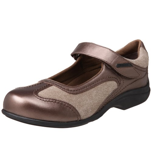 Pw Mindre Womens Sadie Mary Jane, Brons / Brun, 7 2w Oss