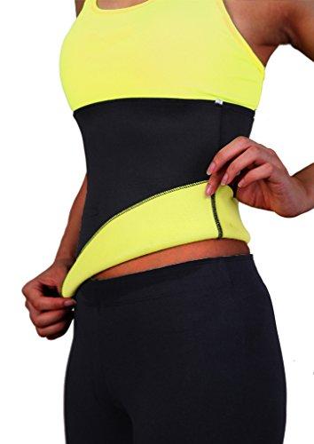 800d6a42cc Lelinta Hot Thermo Sweat Neoprene Weight Loss Shaper Slimming Belt ...