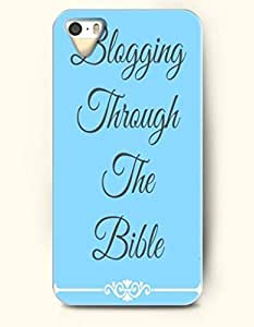 iPhone 5 5S Case OOFIT Phone Hard Case ** NEW ** Case with Design Blogging Through The Bible- - Case for Apple iPhone 5/5s