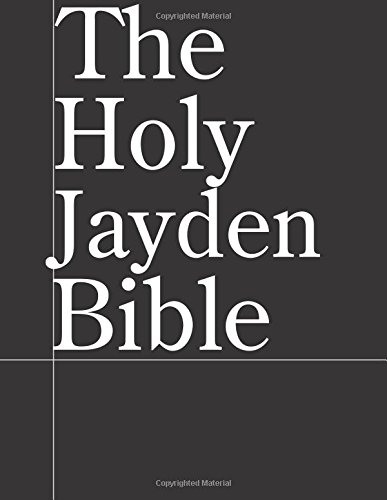 Download The Holy Jayden Bible pdf