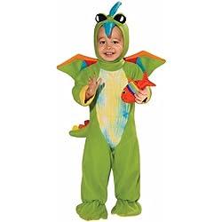 Rubie 's Costume Disfraz de Dino baby verde, color Verde, talla 6 - 12 Months