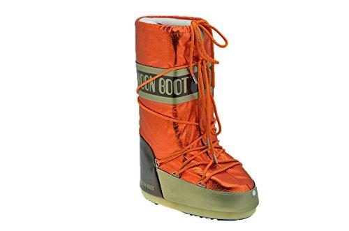 Moon Boot W.e. Wasserfall Schneestiefel Neu Dame. Orange