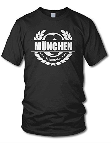 Munich - Balón de fútbol LAUREL shirtloge - corona - Fan T-Shirt ...