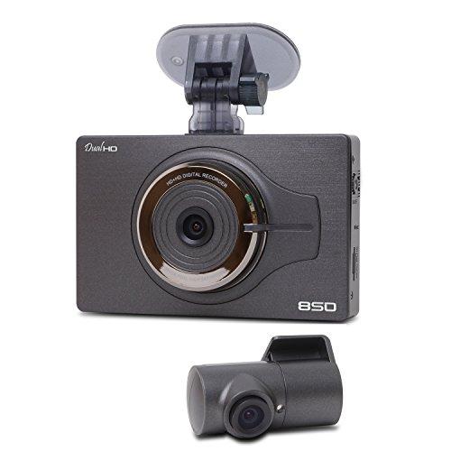 blackcam bch850 hd front rear dash cam video dvr gps recorder best dashboard camera. Black Bedroom Furniture Sets. Home Design Ideas