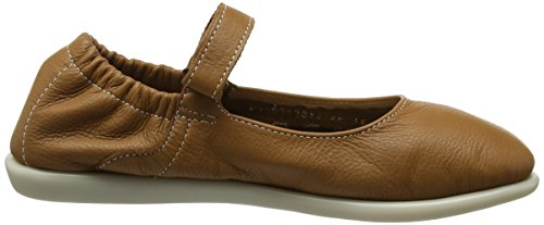 Softinos Women's Val363sof Ballet Flats Brown (Camel) RRgF8