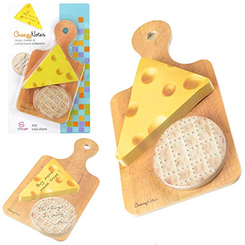 Novelty Fun Sticky Notes Notepad Memo Note Pad School Office Colleague Gift - Cheezy