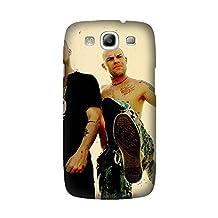 Samsung Galaxy S3 Case, Non-Slip five finger death punch tattoo dreadlocks shoes beard Pattern Case Slim Samsung Galaxy S3 Hard Case Design By [Nathan Overstreet]