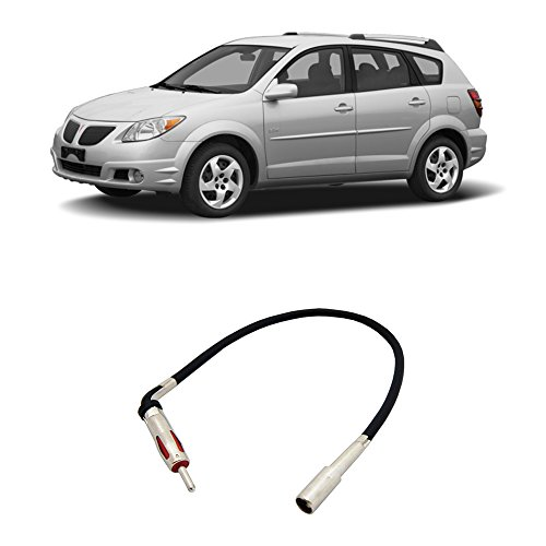 - Fits Pontiac Vibe 2003-2008 Factory Stereo to Aftermarket Radio Antenna Adapter Plug