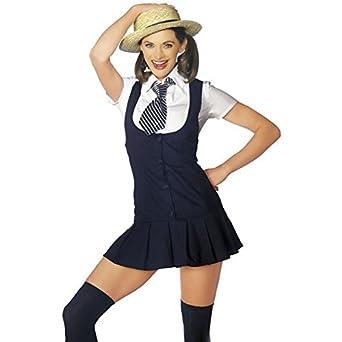 409d29bd50c9d Camille Seductive School Girl Fancy Dress Costume: Camille: Amazon ...