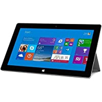 Microsoft Surface 2 64GB 10.6' Tablet Windows RT 8.1 with Microsoft Touch Keyboard - Black (Certified Refurbished)
