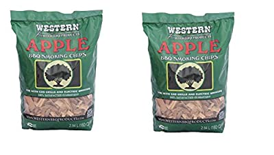 WESTERN 28065 Apple BBQ Smoking Chips by WW Wood inc