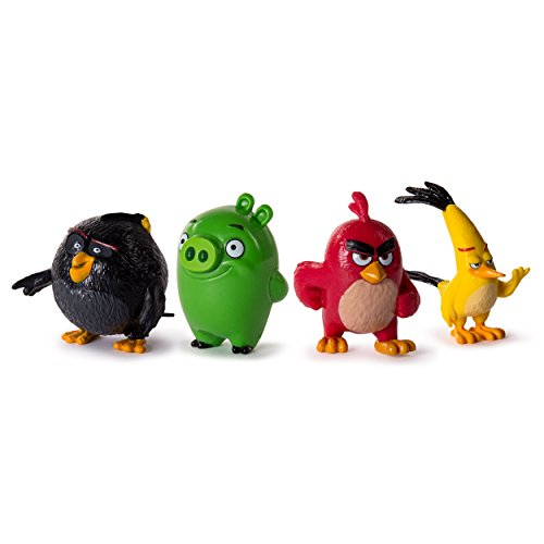 Angry Birds Collectible Figures 4-Pack