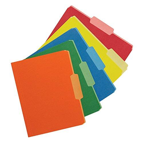 file folders colored - 3