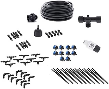 Drip Irrigation Kit for Container Gardening Standard Size – Water 10 Plants