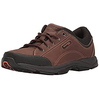 Rockport Men's Chranson Lace-Up-Dark Brown/Black-14 M