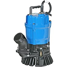 "Tsurumi HS2.4S;  semi-vortex submersible trash pump w/agitator, 1/2hp, 115V,  , 2"" discharge"