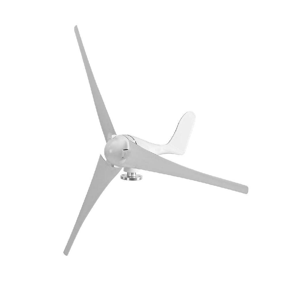 IRONWALLS Wind Turbine Windmill Power Generator Kit 400W DC 12V 3 Blade with Controller White for Home Business Industrial Energy