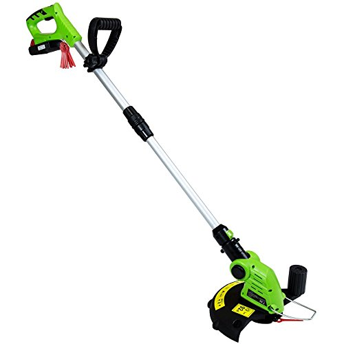 Charles Bentley 20V Portable Cordless Grass Trimmer & Hedger Lawn Cutter - Green Charles Bentley Garden