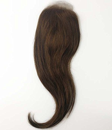 Uniwigs New Arrival 6''X3'' Human Hair Silk Skin Top Parting Closure, Natural Straight Hair Topper Pieces for Hair Loss (G-4) by uniwigs