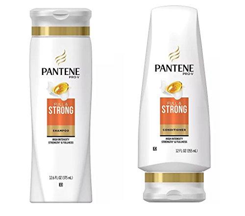 Pantene Pro-V FULL & STRONG Shampoo & Conditioner High Inten